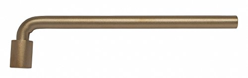 "18-1/4"" High Strength Nickel Aluminum Bronze Socket End Wrench with Natural Finish -  AMPCO"