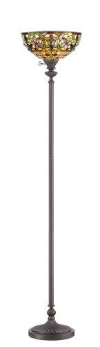 Quoizel TF878UVB, Kami, 1-Light Floor Lamp, Bronze