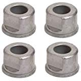 ((4) Front Wheel Bushings/Flange Bearings Replaces M123811, GX10059 – Fits John Deere: D140, D110, D105, D130, L120, L110, L130, LA115, LA105, L100, X125, LA145, D100, D160, L111, L118, & More)