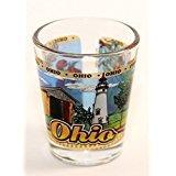 Ohio State Wraparound Shot Glass