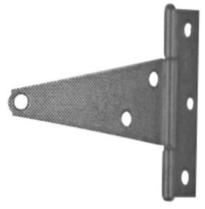 6'' Zinc Extra Heavy T Hinge Without Screws - Stock