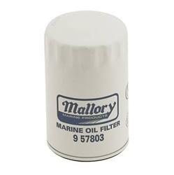 Mercruiser V6 Oil Filter 35-16595T1 9-57803 (Mallory Marine Oil Filter)