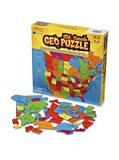 (GeoPuzzle U.S.A. and Canada - Educational Geography Jigsaw Puzzle (69 pcs))