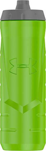 Under Armour Sideline 32 Ounce Squeezable Bottle, Hyper Green (Hyper Sport)