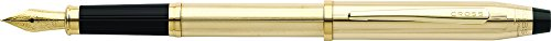 (Cross Century II 10KT Gold-Filled (Rolled Gold) Fountain Pen with 18KT Gold Medium Nib)