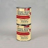 HF Staples & Co 00405 Epoxy Wood Rebuilder ~ Mixes to One Gallon by STAPLES H F