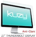 """Kuzy - Anti-Glare Matte Screen Protector Filter for 27 inch Apple Thunderbolt and/or Cinema Display 27"""" Model: A1407 & A1316 - Anti-Glare"""