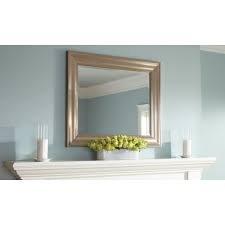 Etonnant Martha Stewart Living Geneva 30 In. X 36 In. Framed Mirror In Polished  Pewter