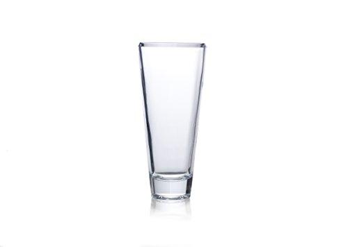 Mikasa 5205890 Ellery Crystal Vase, 14-Inch ()