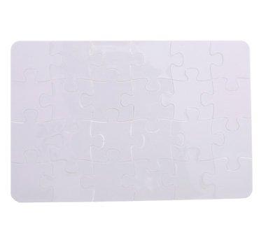 流行 SFS空白Polymer昇華JigsawホワイトBlankパズル10個 x。a5熱転送8 x