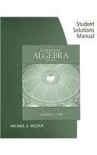 Intermediate algebra r david gustafson peter d frisk student solutions manual for gustafsonfrisks intermediate algebra 8th fandeluxe Image collections
