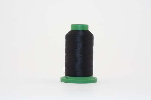 ISACORD 40 Trilobal Polyester Embroidery Thread 40 wt. 1000M Gray and Black Colors ()