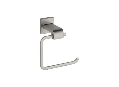 Ss Toilet Line (Delta 77550-SS Ara Single Post Toilet Paper Holder in Brilliance, Stainless Steel)