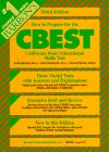 How to Prepare for the CBEST - California Basic Educational Skill Test, Fred Obrecch and Allan Mundsack, 0812014383