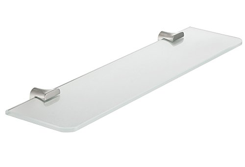 19.69'' Glass Shelf - Brushed Nickel - Essence Series AC-AZ050BN - ANZZI by ANZZI (Image #4)