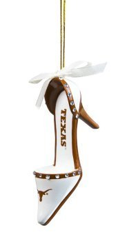 - Texas Longhorns Official NCAA 3 inch x 1.5 inch Team Shoe Ornament