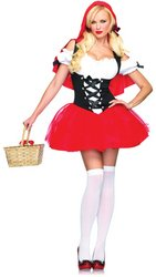 Racy Red Riding Hood Costume (Racy Red Riding Hood Adult Costume - Medium/Large)