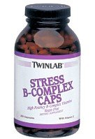 Stress B-Complex Caps by TwinLab 100 Capsules