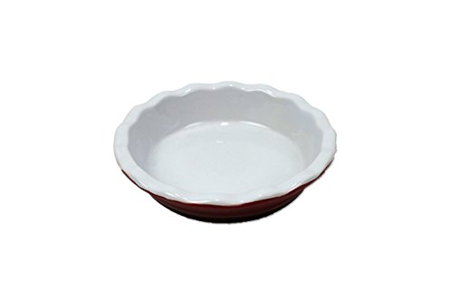 Kitchen Collection 6 Inch Ceramic Pie Pan 09158,color may vary Blueberry Pie Collection