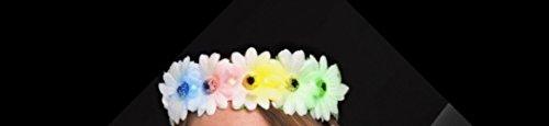 Light Up Flashing Flower Headband