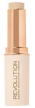 (Makeup Revolution Fast Base Stick Foundation (for fair skin tones with pink undertone), pack of 1)