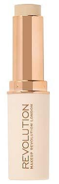Makeup Revolution Fast Base Stick Foundation (for fair skin tones with pink undertone), pack of - Foundation Skin Pink