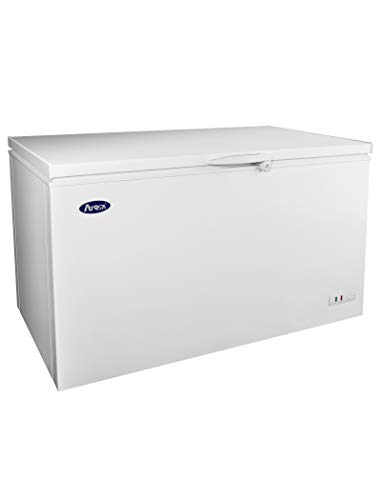 ATOSA commercial Top Chest Freezer with locking and wheels 10 cubic feet MWF-9010