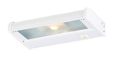 CSL Lighting NCA-120-8BZ Counter Attack 8IN Undercabinet Fixture, Bronze Finish with Prismatic Glass Diffuser by CSL Lighting