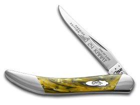 Case Cutlery CAS91009624KT Toothpick 24 Karat 3″ Closed Hunting Knives, Small, 3″ Review