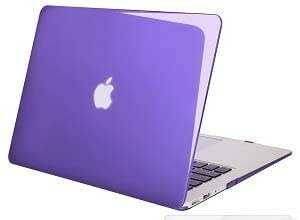 Crystal Hard Case Cover Shell For 13 13.3 Macbook Pro Model Purple