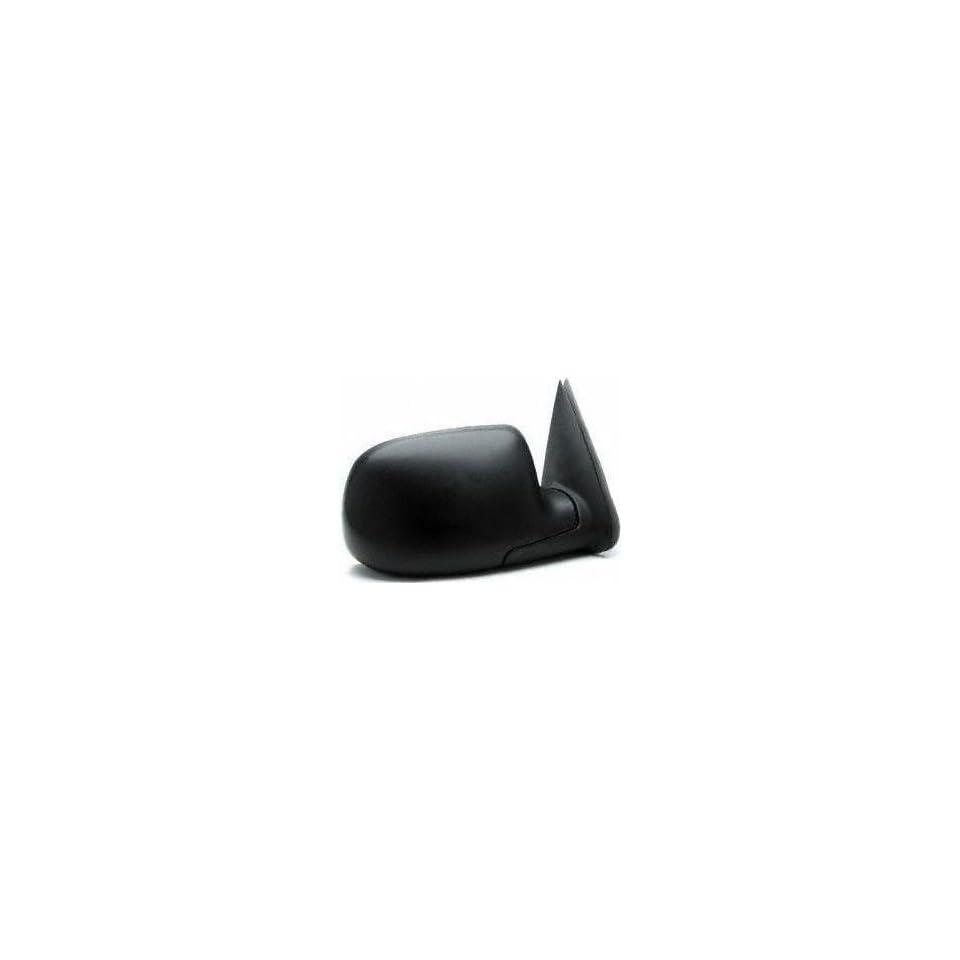 99 04 CHEVY CHEVROLET SILVERADO PICKUP MIRROR RH (PASSENGER SIDE) TRUCK, Manual, Textured Black (1999 99 2000 00 2001 01 2002 02 2003 03 2004 04) GM59R 15037958