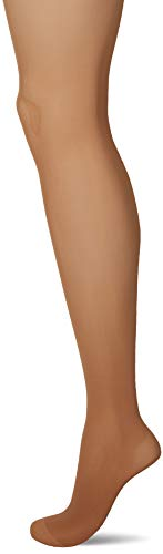 (Wolford Women's Tummy 20 Control Top Tights Gobi Large)