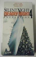 Silent Night Deadly Night 4 [VHS]