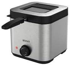 Freidora acero inox Sogo SS-10430 - 1,5 litros: Amazon.es: Hogar