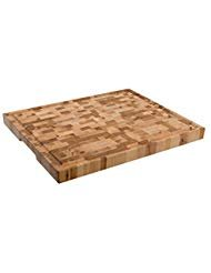 (Labell Boards L16206 Large Canadian End grain Butcher Block with Groove, 16x20x1.5