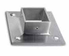 Inline Design Stainless Steel Square Flange