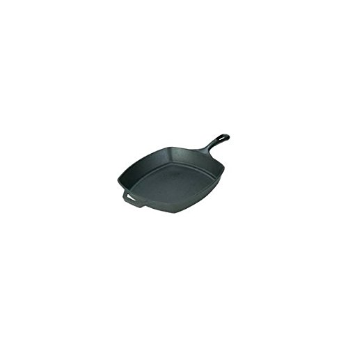 Lodge L8SQ3 10-1/2'' X 1-3/4'' Square Skillet