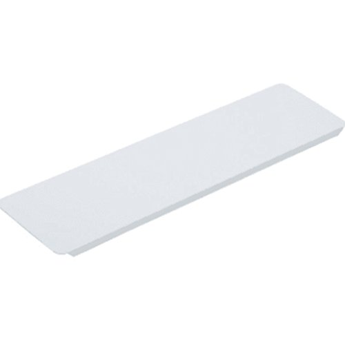 3-5/8W x 13-3/8'' Replacement Medicine Cabinet White Metal Shelf Package of 12 by hd