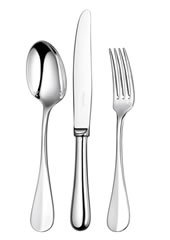 Christofle Tableware (Christofle Fidelio Silver Plated Five Piece Dinner)