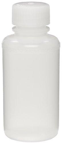 Bel-Art Precisionware Narrow-Mouth 125ml (4 oz) Low-Density Polyethylene Bottles; Polypropylene Cap, 28mm Closure (Pack of 12) (F10621-0015) (Bottles Closure)
