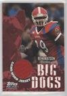 Ben Watson (Football Card) 2004 Topps Draft Picks & Prospects - Big Dogs Senior Bowl Relics #BD-BW ()