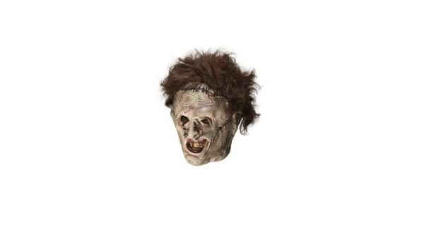 Amazon.com : Texas Chainsaw Massacre Leather Face Mask : Facial Masks : Beauty