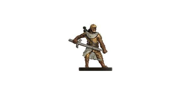 Amazon com: D & D Minis: Human Fighter # 35 - Dungeons of