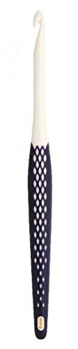 Prym 218472 Crochet hooks for wool,ergonomic, 10 mm, 18 cm,in bulk