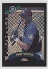 Mike Wilson #92/100 (Baseball Card) 2002 Topps Chrome Traded & Rookies - [Base] - Black Refractor #T223