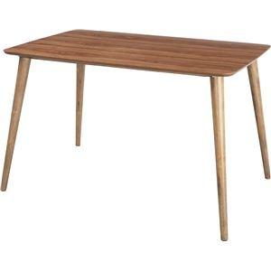ダイニングテーブル 【Tomte】トムテ 長方形 木製(天然木) TAC-242WAL B06XKQ4LPK