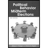 Political Behavior of the American Electorate 11th Edition + 2007 Midterm Election Supplement, Flanigan and Zingale, Nancy H., 0872895270