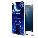 Stitch Peter Pan Flying Quote For iPhone 6 Plus/6s Plus White Case