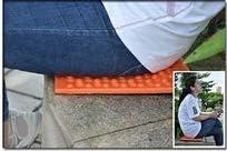 mxjeeio 1pcs Sitzkissen Faltbares leichtes Iso-Sitzmatte Wasserdicht Isolierend klappbar Wandern Wald Drau/ßen Stadionkissen Stuhlkissen Stuhlauflage fur Outdoor Camping Strand
