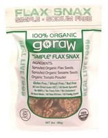Go Raw Organic Super Simple Sprouted Flax Snax, 3 Ounce -- 12 per case. by Go Raw